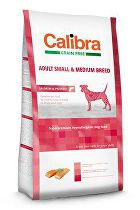 Calibra Dog GF Adult Medium & Small Salmon 12kg NEW