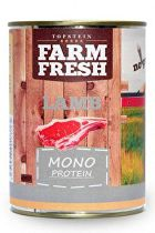 Farm Fresh Dog Monoprotein konzerva Lamb 800g