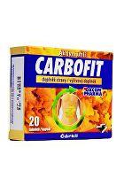 Carbofit aktivované rostlinné uhlí 20tob Dacom
