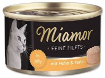Miamor Cat Filet konzerva kuře+těstoviny 100g