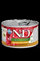 N&D DOG QUINOA Quail & Coconut Mini 140g
