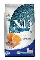 N&D OCEAN DOG GF Adult Mini Herring & Orange 2,5kg