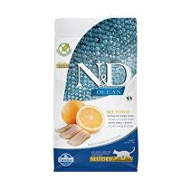 N&D OCEAN CAT NEUTERED Adult Herring & Orange 1,5kg