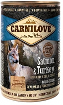 Carnilove Wild Meat Salmon & Turkey 400g