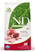 N&D Grain Free DOG Puppy S/M Chicken & Pomegr 800g