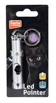 Hračka kočka LED světlo laser motiv MYŠ 8cm