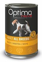 Optima Nova Dog GF Duck konzerva 400g