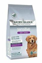 Arden Grange Dog Adult Light Sensitive White Fish 2kg