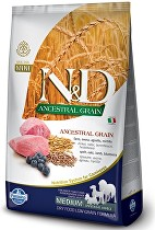 N&D LG DOG Adult M/L Lamb & Blueberry 12kg
