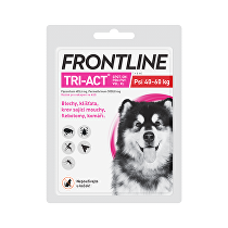 Frontline Tri-act Spot-on XL (40-60 kg) 1 pipeta