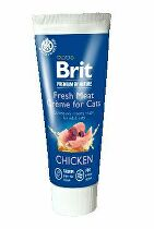 Brit Premium Cat by Nature Creme Chicken Fresh Meat75g
