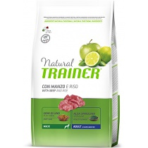 Trainer Natural Adult Maxi Hovězí Rýže 12kg