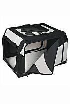 Prepravka Vario nylon S 61x43x46cm čierno-šedá 1ks TR
