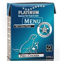 Platinum Menu Fisch+Chicken 375g