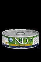 N&D GF CAT PRIME Adult Lamb & Blueberry 80g