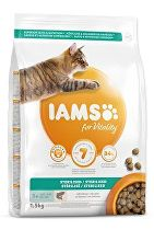 Iams Cat Adult Sterilized Salmon 1,5kg