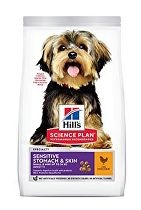 Hill's Can.Dry SP Sensitive Adult Small Chicken 1,5kg