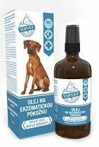 Olej na ekzematickú pokožku pre psov TOPVET 100ml