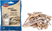 Rybičky sušené pre mačky 5-6cm 50g TR 1ks