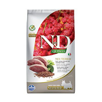 N&D Quinoa DOG Neutered M/L Duck&Broccoli&Asp. 2,5kg