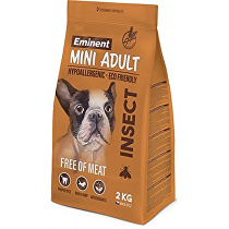 Eminent Dog Mini Adult hmyz 2kg