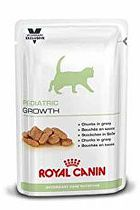 Royal Canin VD Feline Pediatric Growth 12x100g kaps