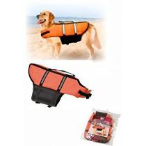 Vesta plávacie Dog S 30cm oranžová