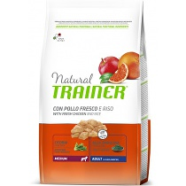 Trainer Natural Adult Medium Kuře Rýže 12kg