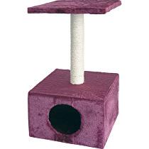 Tommi Carmen škrabadlo pre mačky bordová, 30x30x57 cm