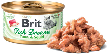 Brit Cat konz Brit Fish Dreams Tuna & Squid 80g