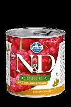 N&D DOG QUINOA Quail & Coconut 285g