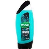 Radox sprchový gel Men Feel Strong 2v1 zelený 250ml