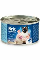 Brit Premium Cat by Nature konz Trout&Liver 200g