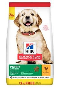Hill's Can.Dry SP Puppy Large Chicken 12,5+2kg