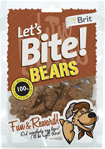 Brit pochoutka Let's Bite Bears 150g NEW