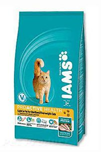 Iams Cat Light rich in Chicken 2,55kg