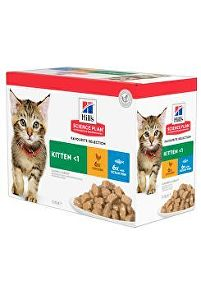 Hill's Fel. kapsa Kitten Chicken&Ocean fish(12x85g)